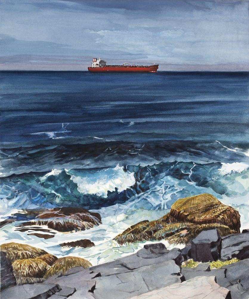 Oil Tanker Off Monhegan